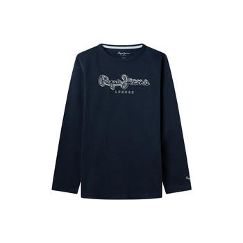 Textil Rapaz T-shirt mangas compridas Pepe jeans ALDO Marinho