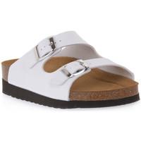 Sapatos Mulher Chinelos Grunland BIANCO 11HOLA Bianco