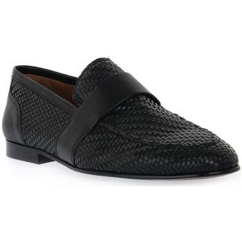 Sapatos Homem Mocassins Marco Ferretti NERO INTRECCIO Nero