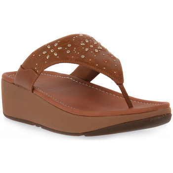 Sapatos Mulher Chinelos FitFlop FIT FLOP MYLA FLORAL STUD TOE Beige