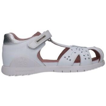 Sapatos Rapariga Sandálias Biomecanics 202165 Niña Blanco blanc