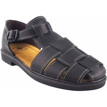 Sapatos Homem Sandálias desportivas Bienve sapato  13 preto Preto