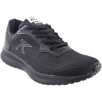 Sapatos Homem Sapatilhas Sweden Kle Esporte masculino Preto