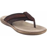 Sapatos Homem Sandálias Kelara sandália  8402 marrom Castanho