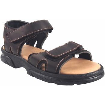 Sapatos Homem Sandálias Bienve sandália  458 marrom Castanho