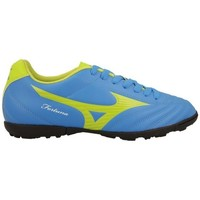 Sapatos Homem Chuteiras Mizuno Fortuna 4 AS Azul, Verde claro