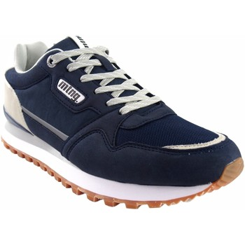 Sapatos Homem Sapatilhas MTNG Sapato masculino MUSTANG 84698 azul Azul