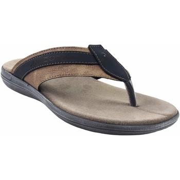 Sapatos Homem Sandálias Kelara sandália  8402 azul Azul