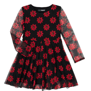 Textil Rapariga Vestidos curtos Desigual ALICIA Multicolor