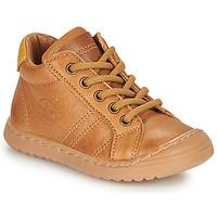 Sapatos Rapaz Botas baixas Bisgaard THOR Castanho