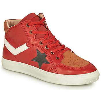 Sapatos Rapaz Sapatilhas de cano-alto Bisgaard ISAK Vermelho