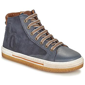 Sapatos Rapaz Sapatilhas de cano-alto Bisgaard GEORG Marinho
