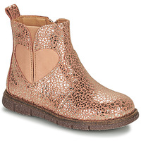 Sapatos Rapariga Botas baixas Bisgaard MELODY Rosa / Ouro