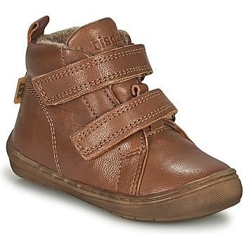 Sapatos Rapaz Sapatilhas de cano-alto Bisgaard DEE Conhaque