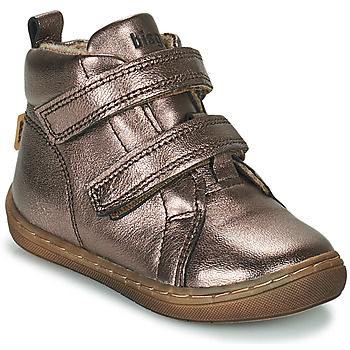 Sapatos Rapariga Sapatilhas de cano-alto Bisgaard DEE Prata