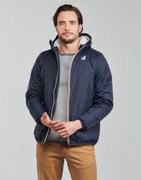 Textil Homem Jaquetas K-Way LE VRAI 3.0 CLAUDE ORSETTO Marinho