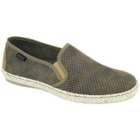 Sapatos Homem Slip on Cbp - Conbuenpie Sandalia de piel de mujer by TROPPA (R.ST) Vert