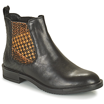 Sapatos Mulher Botas baixas Café Noir FRETINA Preto