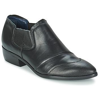 Sapatos Mulher Botas baixas Stephane Gontard DELIRE Preto