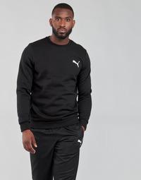 Textil Homem Sweats Puma ESS CREW SWEAT FL Preto