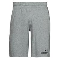 Textil Homem Shorts / Bermudas Puma ESS JERSEY SHORT Cinza