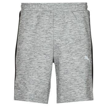Textil Homem Shorts / Bermudas Puma EVOSTRIPE SHORTS 8 Cinza / Preto