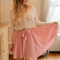 Textil Mulher Saias Céleste EGLANTINE Rosa
