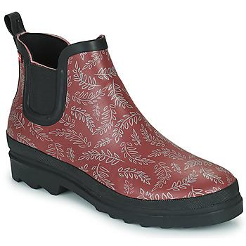 Sapatos Mulher Botas de borracha Sanita FELICIA Bordô