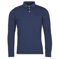 Textil Homem Polos mangas compridas Hackett HM550879 Azul