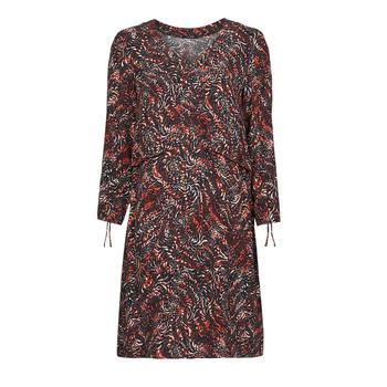 Textil Mulher Vestidos curtos One Step FT30121 Vermelho / Multicolor