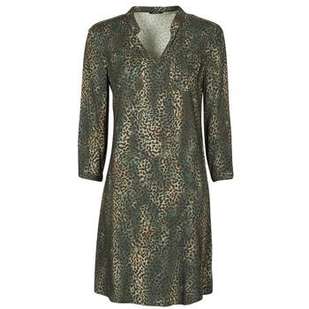 Textil Mulher Vestidos curtos One Step FT30011 Cáqui
