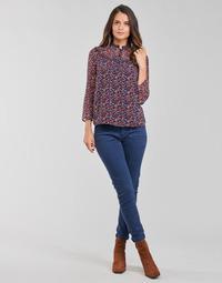 Textil Mulher Calças One Step FT22021 Marinho