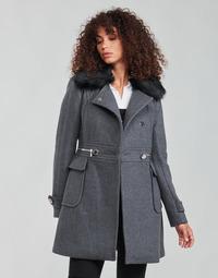 Textil Mulher Casacos Morgan GKATHY Cinza / Antracite