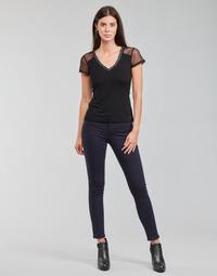 Textil Mulher Calças Morgan PETRA Marinho