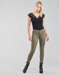 Textil Mulher Calças Morgan PETRA Tomilho
