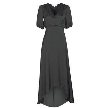 Textil Mulher Vestidos compridos Morgan RSIBIL Preto
