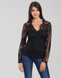 Textil Mulher Tops / Blusas Morgan TEMMA Preto