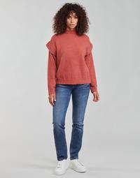 Textil Mulher Calças Jeans Freeman T.Porter ALEXA STRAIGHT SDM Azul / Escuro