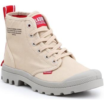 Sapatos Sapatilhas de cano-alto Palladium Pampa HI Dare 76258-274 beige