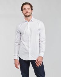 Textil Homem Camisas mangas comprida Emporio Armani 8N1C09 Branco