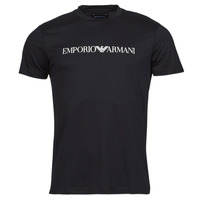 Textil Homem T-Shirt mangas curtas Emporio Armani 8N1TN5 Preto