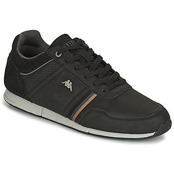 Sapatos Homem Sapatilhas Kappa TYLER Preto