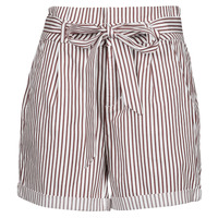 Textil Mulher Shorts / Bermudas Vero Moda VMEVA Branco / Castanho