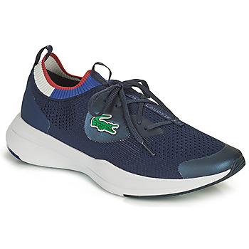 Sapatos Homem Sapatilhas Lacoste RUN SPIN KNIT 0121 1 SMA Marinho