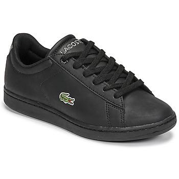 Sapatos Criança Sapatilhas Lacoste CARNABY EVO BL 21 1 SUJ Preto