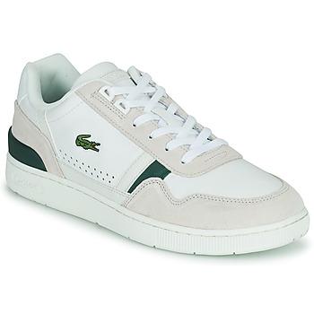 Sapatos Homem Sapatilhas Lacoste T-CLIP 0120 3 SMA Branco / Bege