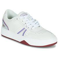 Sapatos Mulher Sapatilhas Lacoste L001 0321 1 SFA Branco / Violeta
