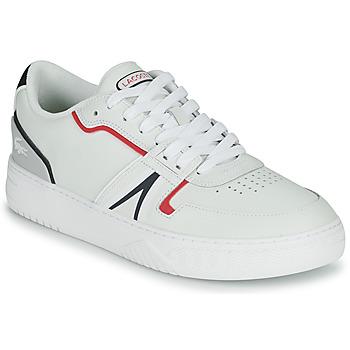 Sapatos Homem Sapatilhas Lacoste L001 0321 1 SMA Branco / Vermelho / Azul