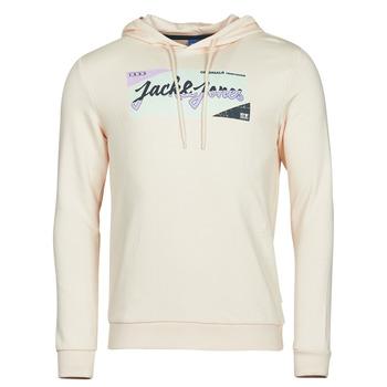 Textil Homem Sweats Jack & Jones JORLOGON Bege