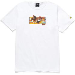 Textil Homem T-Shirt mangas curtas Huf T-shirt dhalsim ss Branco